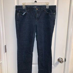 Ann Taylor LOFT Modern Skinny Jeans 14
